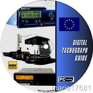 HGV-PSV-LGV-DIGITAL-TACHOGRAPH-GUIDE-CDROM-NEW-OPERATING-GUIDE-LAWS-DIRECTIVES