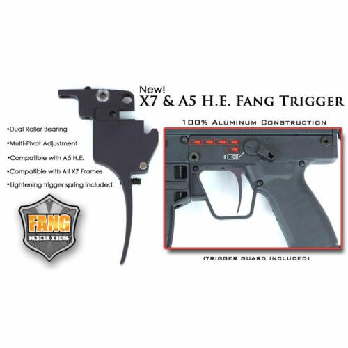 TechT Tippmann Fang Trigger - X7 & A5 H.E. - Paintball