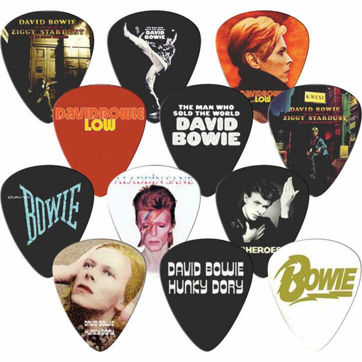 David Bowie Guitar Pick