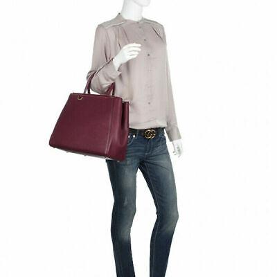 Fendi Bag NWT Scarlet Calfskin Leather 2jours Medium Vitello Rosso + Cilie