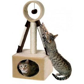 Cat N scratcher satellite post unit brand new