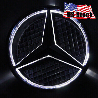Illuminated Car Auto Led Grille Logo Emblem Light For Mercedes Benz 2013-2016