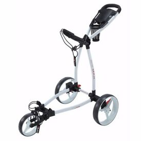 Big Max Blade Push Golf Cart - White color for Sale