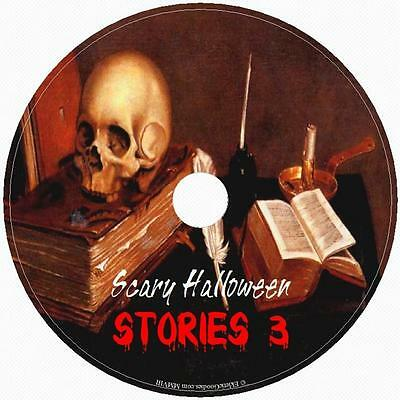 SCARY HALLOWEEN STORIES #3 Handpicked Tales of Fright Terror & Horror! 1Audio CD (Audio Halloween Stories)