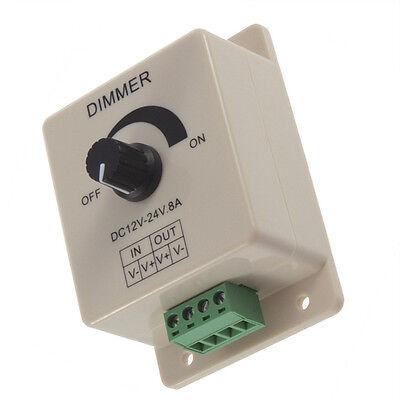 12v 8a Pir Sensor Led Strip Light Switch Dimmer Brightness Controller Power Ca