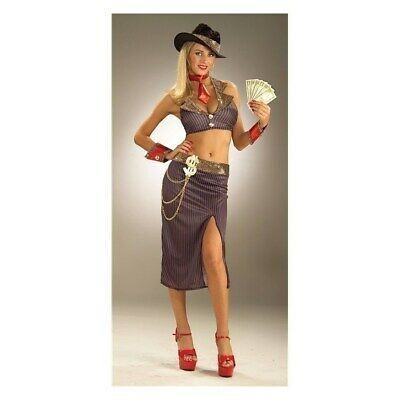 Medium/Large Fits 8-12 Glamour Gangster Halloween - Glamour Gangster Kostüm