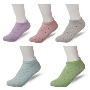 Women Ankle Socks Sports Multi-Color Desing One Size