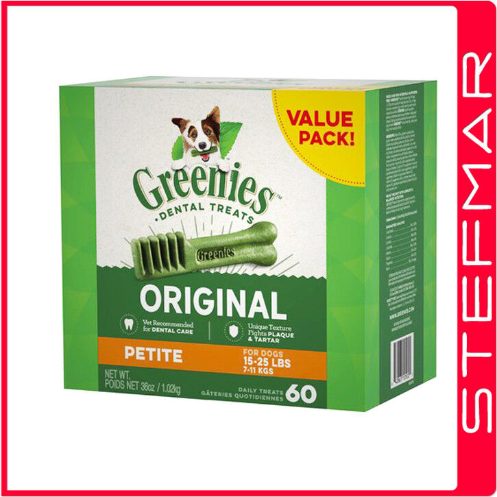 Petite Greenies Dog Dental Chew Treats 36oz 60ct