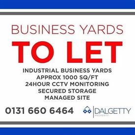 Industrial business Storage Yard to LET