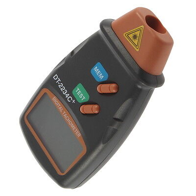 Digital Laser Photo Tachometer Non Contact RPM Tach AX