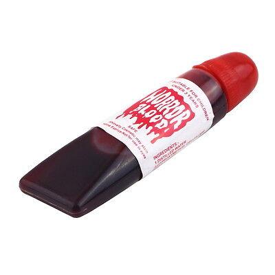 FAKE BLOOD GEL TUBE HORROR FANCY DRESS COSTUME HALLOWEEN PARTY JOKE RED TOY KK