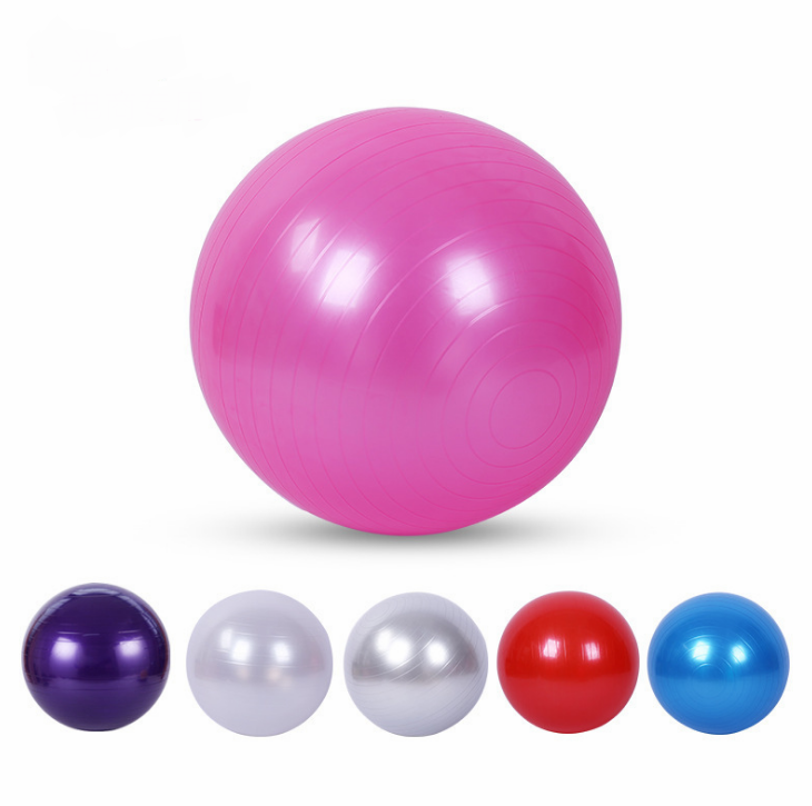 5 Color Yoga Ball Anti Burst Exercise Balance Workout Stabil