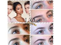 HIGH DEFINITION BROWS AND LVL LASHES