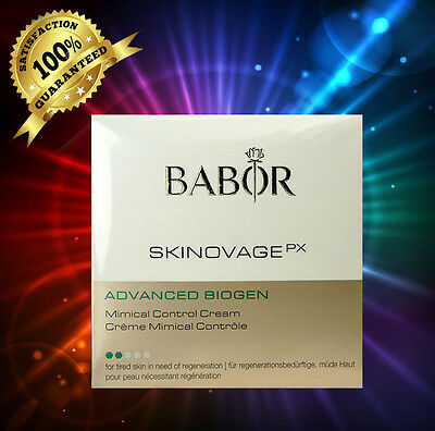 Babor Skinovage Advanced Biogen Mimical Cream 50Ml 1 7Oz  Sealed In Box
