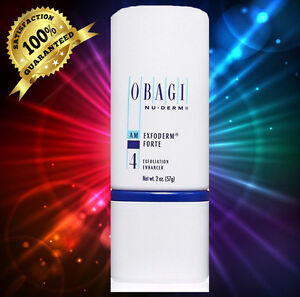 Obagi Nu Derm Exfoderm Forte  Exfoliation Enhancer 57 g/ 2 oz. SEALED