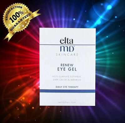 Elta Md Renew Eye Gel 0 5 Fl Oz   15 Ml New In Box