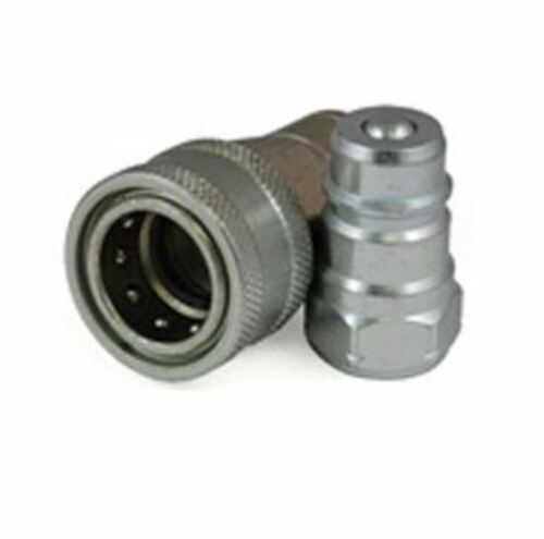 """ISO 5675 Agricultural fittings, 3/4"""" Quick Connect Slip Fitting, 3/4"""" NPT Thread"""