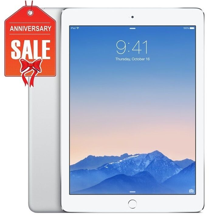 Apple iPad Air 1st Generation 32GB, Wi-Fi, 9.7in - Silver - Good Condition (R-D)