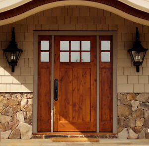Entry Door With Sidelights Ebay