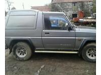 1992 Daihatsu Fourtrak 2.8Td
