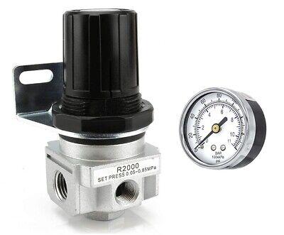 14 Air Pressure Regulator For Compressed Air Compressor W Gauge