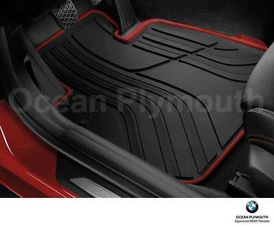 Genuine BMW All Weather  Rubber Front Floor Mats   Sport   F30F31 51472339780