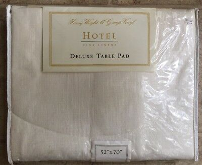 NIP Bed Bath Beyond FINE LINENS HOTEL COLLECTION DELUXE TABLE  52X70