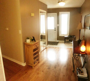 Newly renovated upper bungalow in Alliston for rent