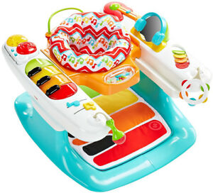 Exerciseur Fisher-Price 4-In-1 Step 'N Play Piano