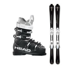 New Women's Head Skis & Head Next Edge Boots downhill