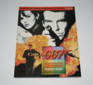 Official Nintendo Power GoldenEye 007 N64 Players Strategy Guide