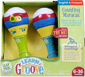 LeapFrog Baby Learn & Groove Counting Toy Maraca