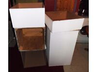 Large Heavy Duty Wooden Boxes, Originally from a Shop Display, Stackable & great for Storage