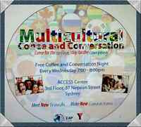 Multicultural coffee and conversation night!