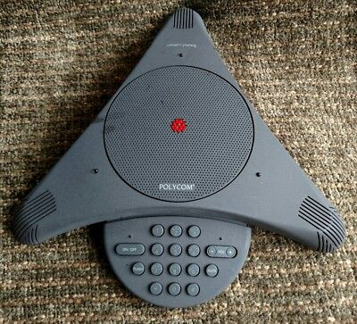 Polycom Soundstation Conference Call Speakerphone No Power Insertion Cable
