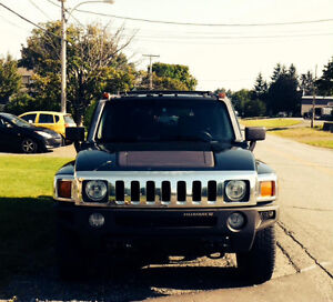 2006 HUMMER H3 NOIR 5 SPEED