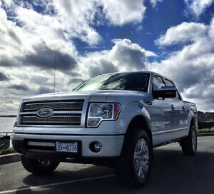 2011 FORD F-150 PLATINUM 4X4 - 3.5L ECOBOOST - LOW KMS