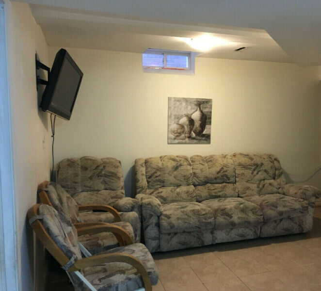 Basement For Rent - Near Square One