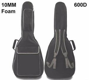 "Acoustic Guitar Carrying case, 10mm Paddding Bag, Max. 41"" full"