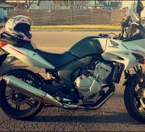 Honda cbf 2012