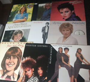 9  Records - Female Artists Mix - One Low Price ( Bin # 4 )