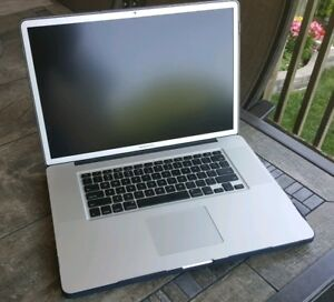 Perfect - 17 Inch 2011 Macbook Pro
