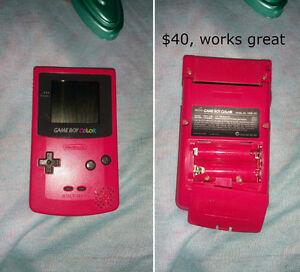 Hot Pink Game Boy Color