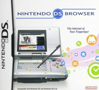 Nintendo Ds Browser Cartridge Web Internet For Nintendo Ds And Ds Lite System