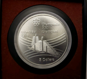 1976 Sterling Silver Montreal Olympics coin.
