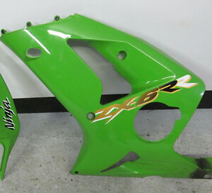 2003-2004 ZX6R LH FR Cowl for sale 55028-1454