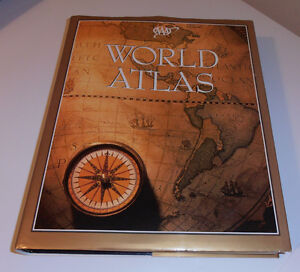 WORLD   ATLAS IN excellent CONDITION