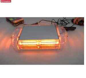90w COB LED Amber Light Mini Bar Roof Top Emergency Warning Flas