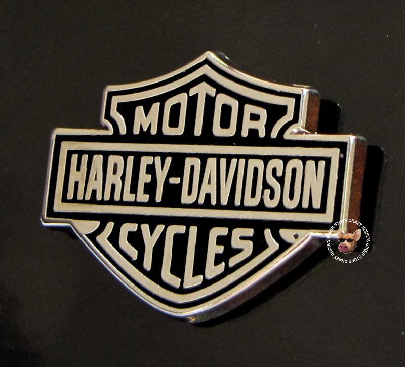 HARLEY DAVIDSON CLASSIC BAR AND SHIELD MOTORCYCLE VEST JACKET PIN BIKER