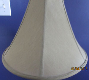 Brass Plated Crystal Glass Lamp Cambridge Kitchener Area image 3